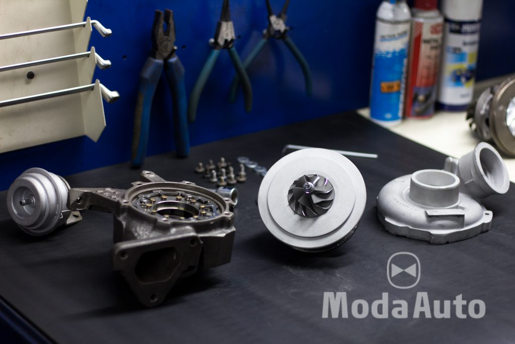 Ремонт турбины Mercedes Sprinter