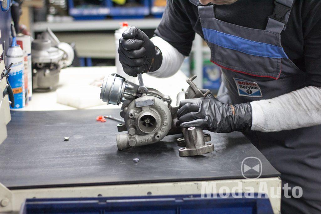 Ремонт турбины VW Jetta 1.9